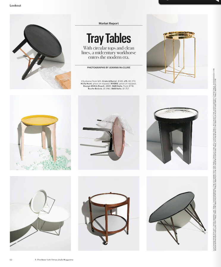 Gergeti's been featured on T Magazine- Fall Design issue